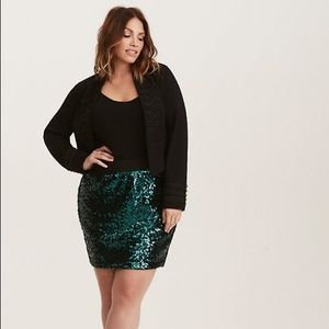 Torrid Sequined Skirt